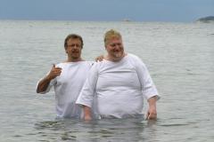 Křty v moři
