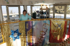 Alena v jeruzalémském domě modliteb
