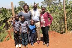 Mešak s rodinou