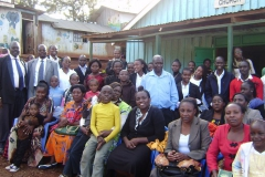 Mešak s členy své církve