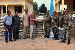 Mezi kambodžskými vojáky