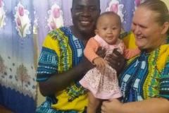 Radka s rodinou