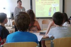 Veronika vyučuje na Etických dílnách